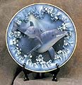 3-D Double Dolphins Collectible Plate