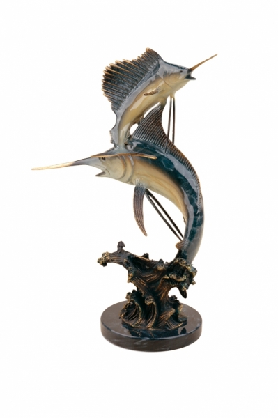 Marlin & Sailfish Sculpture
