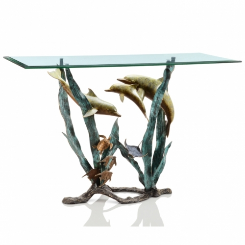 "Majestic ""Dolphin World""                           Entry / Sofa /  Console Table"