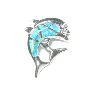 Dolphin Lovers Pendant