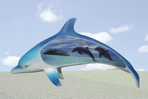 """Sea Dream"" Dolphin Sculpture"