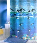 Orca Whale Shower Curtain   FREE SHIPPING!